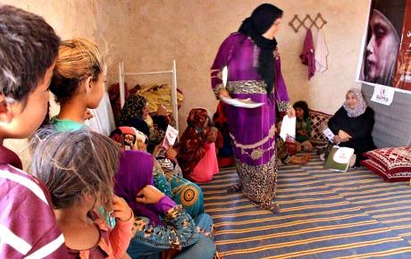 Syrisk pristagare kampar for kvinnor