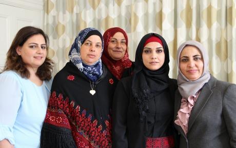 Palestinska fangar hungerstrejkar
