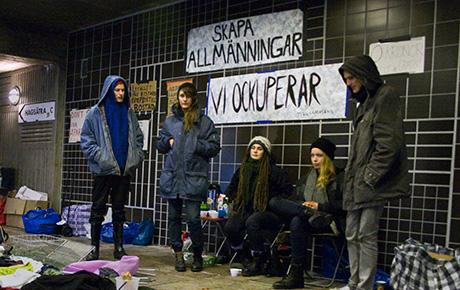 Ockupationen av kvinnornas kroppar