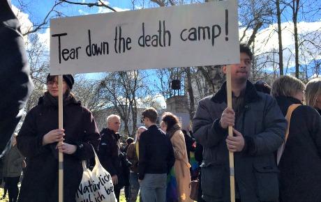 Protest holls mot vald homosexuella i tjetjenien